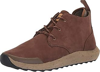 Freewaters Mens Freeland Premium Suede Outdoor Casual Dress Boot w/Arch Support & 3M Scotchgard Chukka, Brown, 13 Medium US