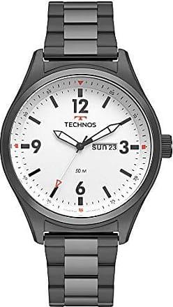 Technos Relógio Technos Masculino Ref: 2105ax/4b Militar Preto