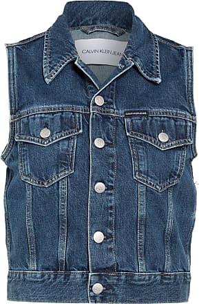 Calvin Klein Jeans Jeans-Weste - BLAU