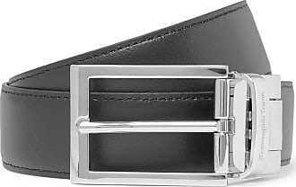 Ermenegildo Zegna 3cm Black And Tan Reversible Leather Belt - Black