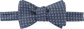Gieves & Hawkes Gravata de seda texturizada - Azul