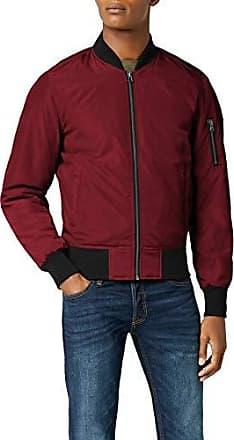 urban classic veste jeans homme rouge