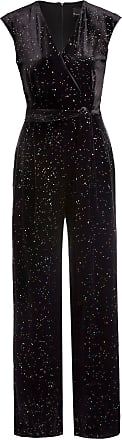 Phase Eight Jumpsuit STARLIGHT aus Samt - SCHWARZ