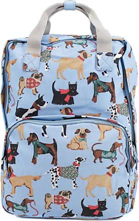 Your Dezire Womens Ladies Oilcloth Backpack Rucksack School College Shoulder Laptop Bag Womens Light Blue