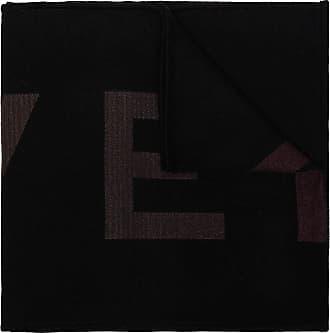 Givenchy Black wool logo scarf - Preto
