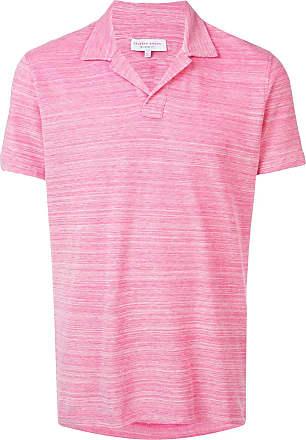 Orlebar Brown Camisa polo - Rosa