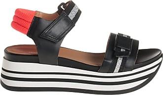 Janet Sport sandalo fondo sneaker, 36 / nero