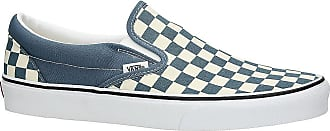 Vans Classic Checkerboard Slip-Ons blue mirage / true white
