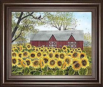Classy Art Sunshine by Billy Jacobs Framed Print Wall Art, Yellow