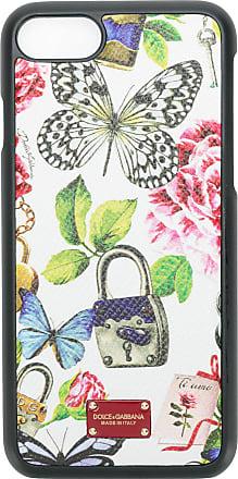 Dolce & Gabbana Capa para iPhone 7 de couro - Estampado