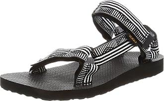 Teva Womens Original Universal Sports and Outdoor Sandal, Campo Black/White