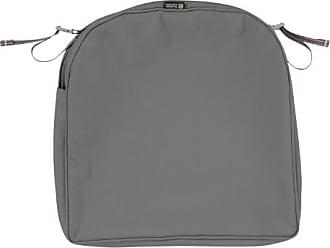 Classic Accessories 18x18x2 Charcoal Patio Cushion Slipcover, Montlake