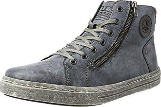 Rieker Herren B5050 Sneaker, Schwarz (SchwarzSchwarz