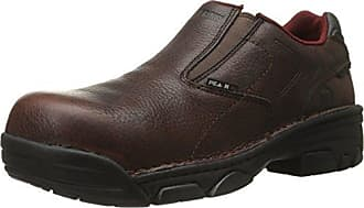 Wolverine Mens Falcon Slip-On Comp Toe EH Work Boot, Briar, 11.5 M US