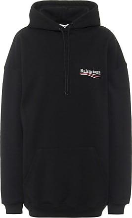 Balenciaga Oversize Hoodie aus Baumwolle