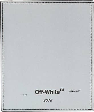 Off-white Card Holder With Logo Mens Silver