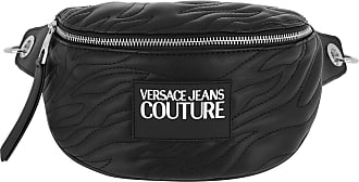 Versace Jeans Couture Belt Bags - Crossbody Bag Quilted Black - black - Belt Bags for ladies