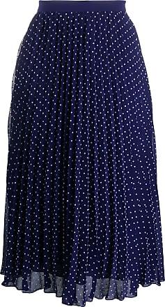 Philosophy di Lorenzo Serafini polka dot print midi skirt - Blue