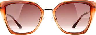 Ana Hickmann Óculos de Sol Ana Hickmann Ah9290 C02/55 Laranja Transparente/dourado