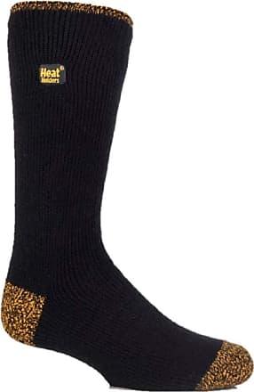 Mens Original Long Heat Holder SKI Socks 6-11 Uk,39-45 Eur Black//Navy//Charcoal