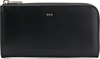 A.P.C. zip around purse - Preto