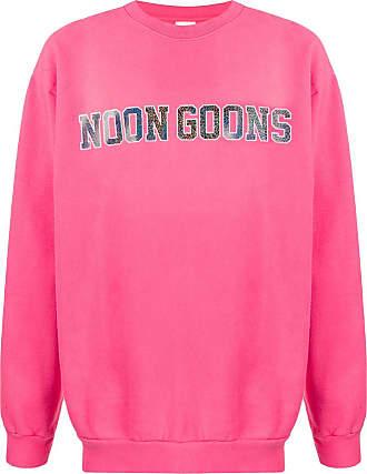 Noon Goons Moletom com estampa de logo - Rosa