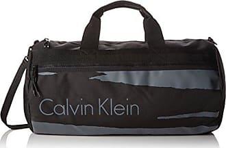 c88cf7781f Calvin Klein Jeans COOPER WEEKENDER, Sac pour homme à porter à lépaule Noir  Schwarz (