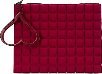 No Ka'Oi Portafoglio con zip - Di colore rosso