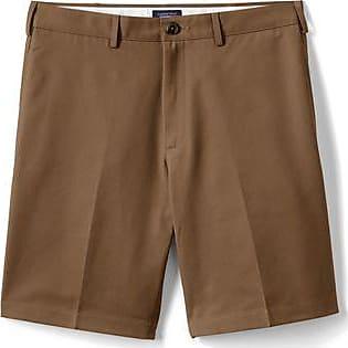 Lands End Bügelleichte Chino-Shorts, 23 cm, für Herren - Braun - 56 von Lands End