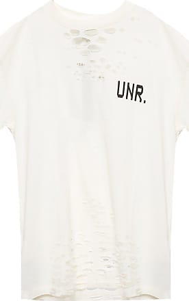 Unravel T-shirt With Logo Mens White