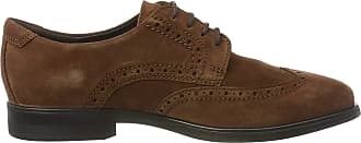 Ecco Mens Melbourne Brogues, Brown (Brandy 5280), 10 UK