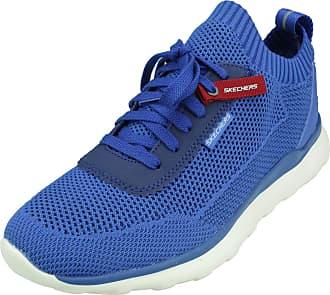 Skechers Mens Nickson Fitness Gym Athletic Shoes Blue US 9 Medium (D)