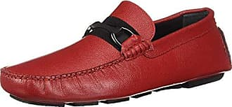 Bugatchi Mens Driver Driving Style Loafer Rosso 600 8 Medium US
