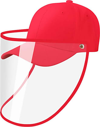 OLIPHEE Mens Baseball Caps Adjustable Unisex Outdoor Camping, Riding red T