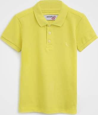 Reserva Mini Camisa Polo Reserva Mini Infantil Logo Amarela