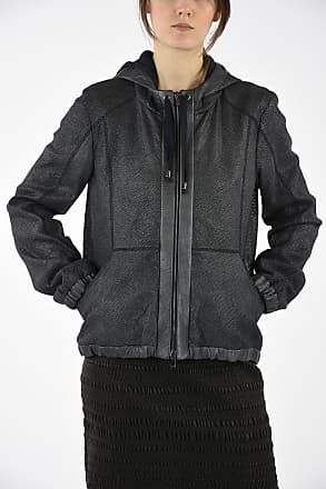 Drome Hooded Leather Jacket size S
