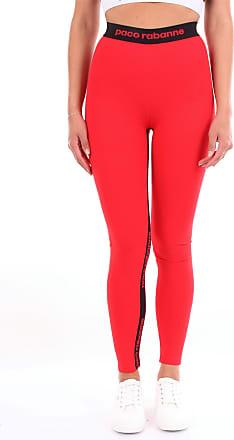 Paco Rabanne Leggings Red