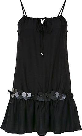 Amir Slama embellished straight dress - Black