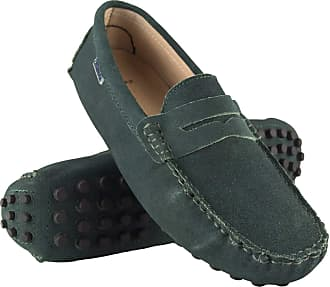 Zerimar Mocassins Men | Men Loafers Shoes Casual | Leather Mocassins Mens | Shoes Moccasins Mens Loafers | Mens Loafers Green