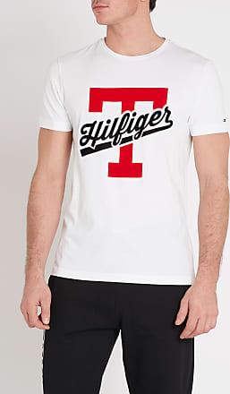 f109c0f1c1ea Tommy Hilfiger Tee-shirt regular-fit col ras-du-cou logo en