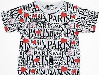 Balenciaga Printed Crewneck T-shirt Größe 2 Y