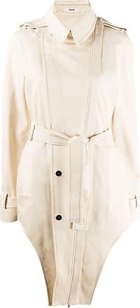 Zilver unzipped side weekend coat - NEUTRALS