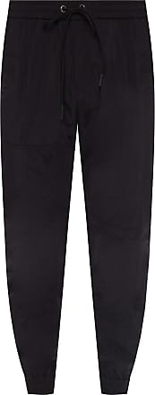 Iceberg Nylon Track Pants Mens Black