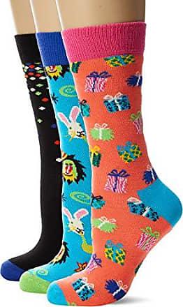 Happy Socks 3-pack Hang Loose Liner Sock Calze Multicolore Donna Taglia Unica: 36-40 Pacco da 3 4//7 Multicolour 930