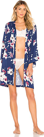 Yumi Kim Dream Lover Robe in Navy