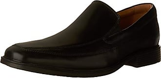 Clarks Mens Tilden Free Loafers, Black Leather, 13 M US