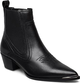 Red cowboy boots Mango   Røde cowboystøvler fra Mango