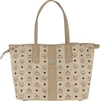 26ca0050616fa MCM Project Visetos Reversible Shopper Medium Beige Shopper beige
