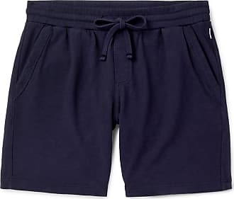 Orlebar Brown Frederick Garment-dyed Cotton-jersey Drawstring Shorts - Navy