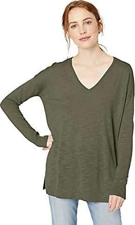 Daily Ritual Marchio maglione leggero da donna con scollo a V